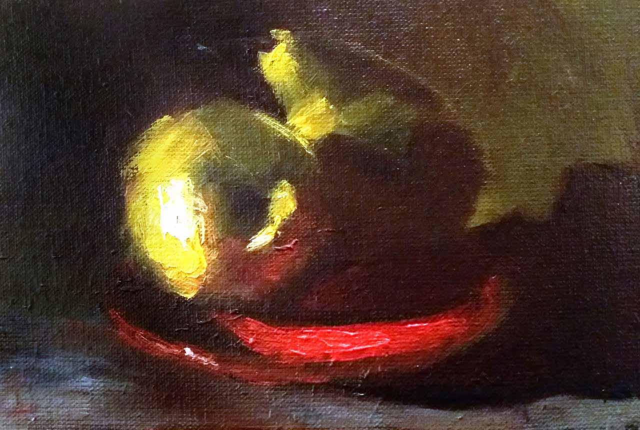 Картина Желтый тандем - автор Скляр Татьяна