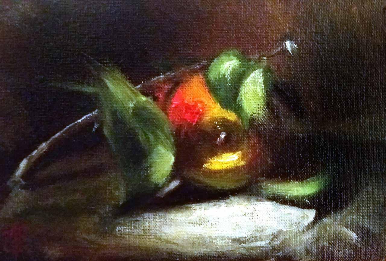 Картина Наливное яблочко - автор Скляр Татьяна