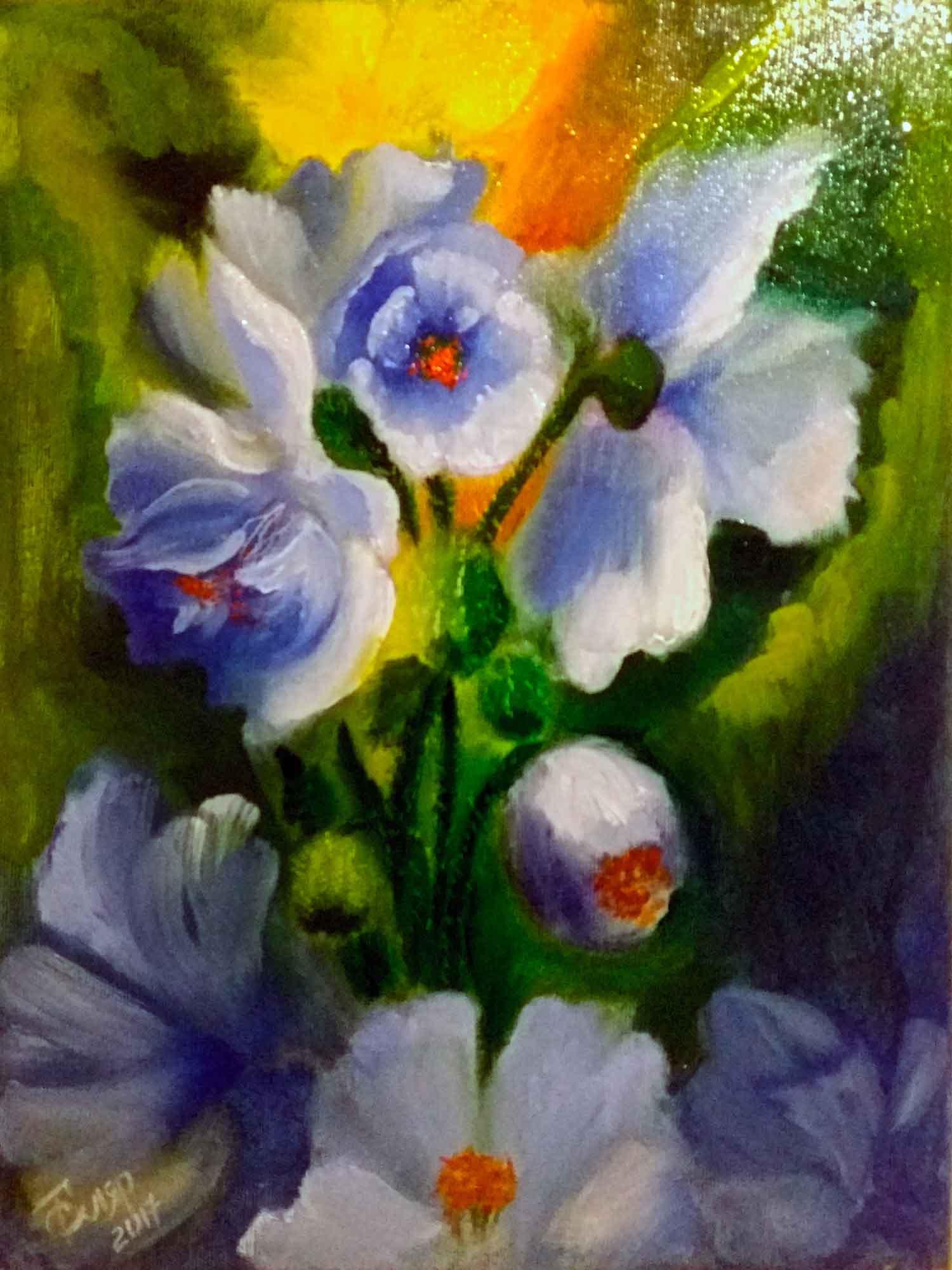 Картина Наступление весны - автор Скляр Татьяна