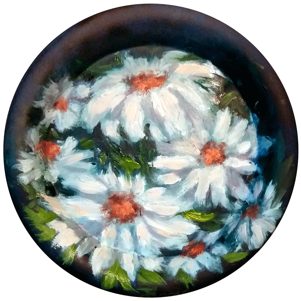 Картина Ромашки - автор Скляр Татьяна