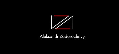 Логотип Александр Задорожный, дизайнер Скляр Татьяна