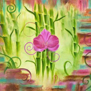 Купить картину маслом для интерьера_картины с цветами
