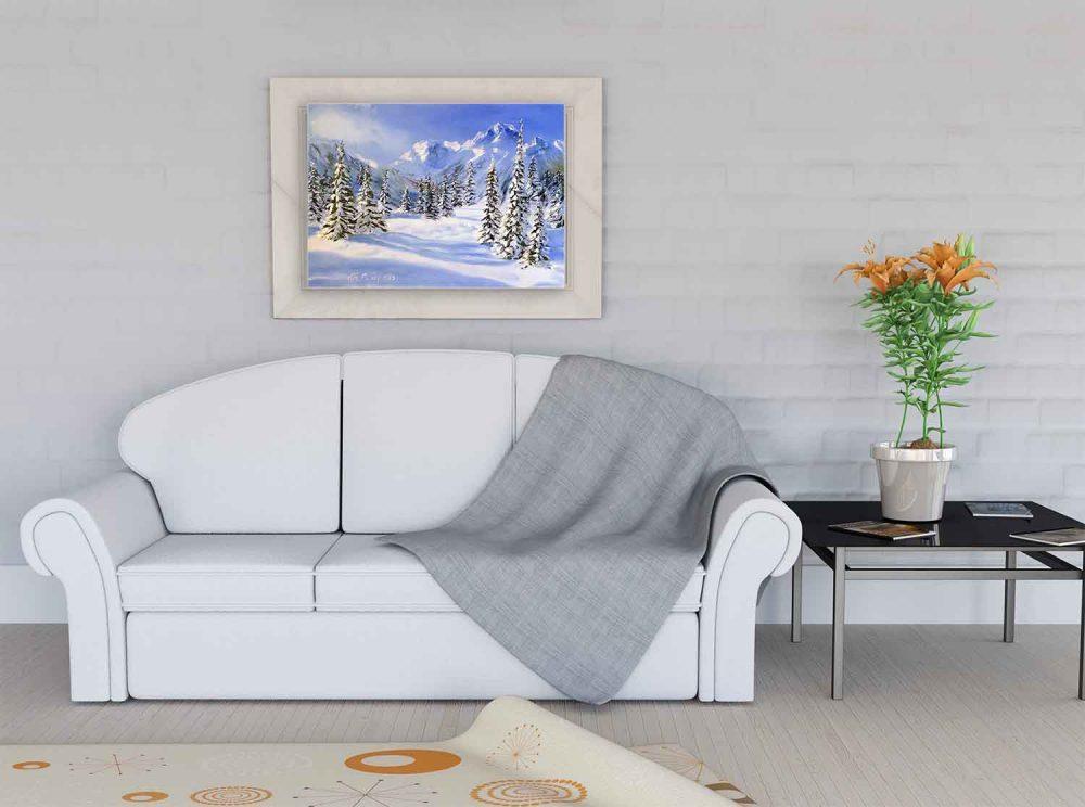 Купить картину маслом для интерьера_Картина, интерьер