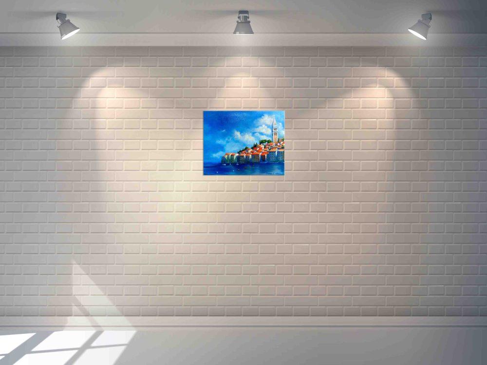Купить картину маслом для интерьера_Картина ручной работы