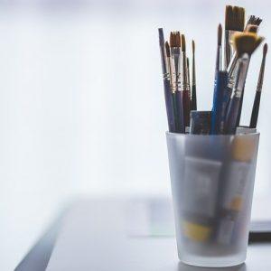 услуги фрилансера, предметы для живописи